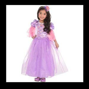 Disney princess Rapunzel costume size 3-4T Tangled